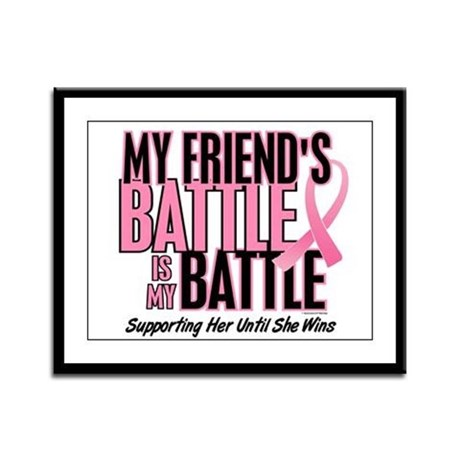 My Battle Too 1 (Friend BC) Framed Panel Print