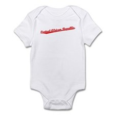 Retro Central Afri.. (Red) Infant Bodysuit