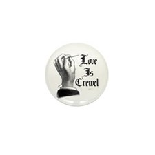 Love is Crewel Mini Button (10 pack)