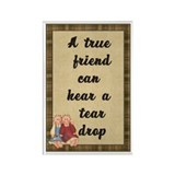 True Friend Rectangle Magnet (10 pack)