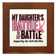 My Battle Too 1 (Daughter BC) Framed Tile