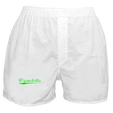 Vintage Wyandotte (Green) Boxer Shorts