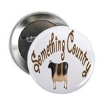Something Country Cow Button