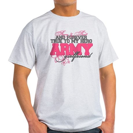 Strong&Sweet Army Girlfriend Light T-Shirt