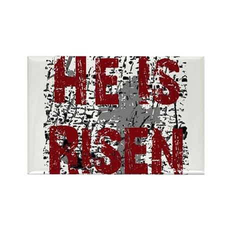 He is Risen Rectangle Magnet (10 pack)