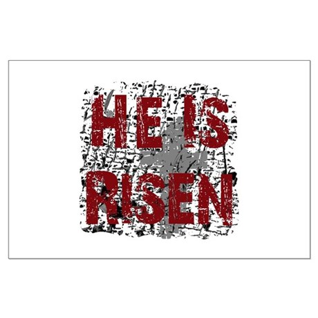He is Risen Large Poster