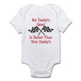 Daddys Quad Is Fast Infant Bodysuit