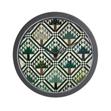 Tree Quilt - Quilt Craft Wall Clock
