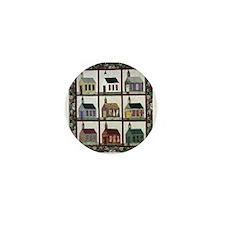 Church Quilt - Quilt Craft Mini Button (10 pack)