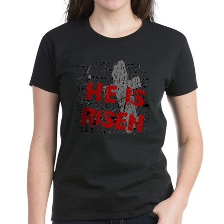 He is Risen Women's Dark T-Shirt