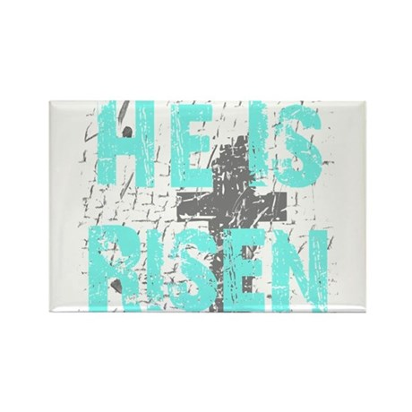 He is Risen Rectangle Magnet (100 pack)