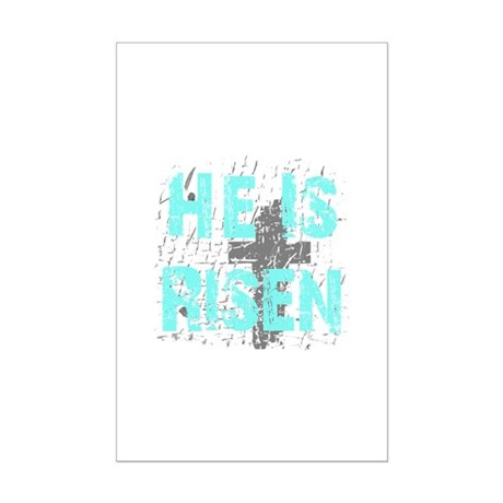 He is Risen Mini Poster Print