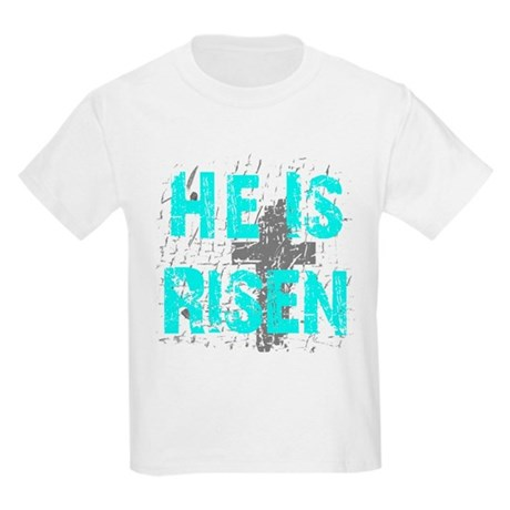 He is Risen Kids Light T-Shirt