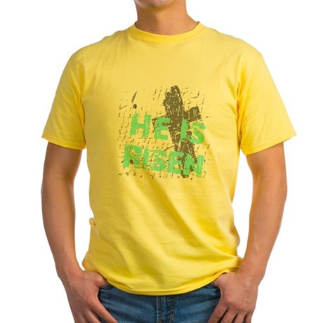 He is Risen Yellow T-Shirt