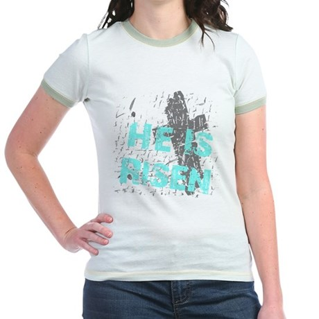 He is Risen Jr. Ringer T-Shirt