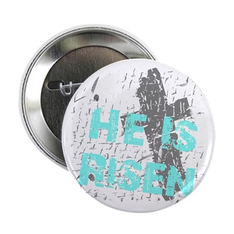 "He is Risen 2.25"" Button (100 pack)"