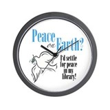 Peace on Earth 2 Wall Clock