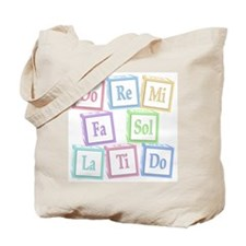 Solfege Baby Blocks Tote Bag