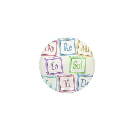 Solfege Baby Blocks Mini Button (10 pack)
