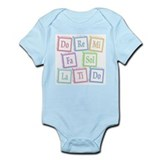 Solfege Baby Blocks Infant Bodysuit