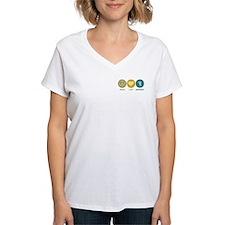 Peace Love Ghostbust Shirt