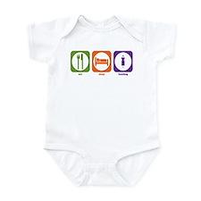 Eat Sleep Hosting Infant Bodysuit