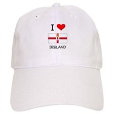 I Love Ireland Baseball Cap