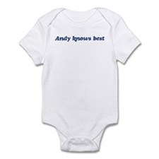 Andy knows best Infant Bodysuit