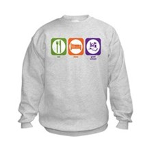 Eat Sleep Grad School Sweatshirt
