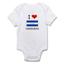 I Love Honduras Infant Bodysuit