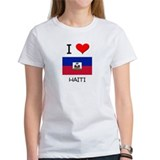 I Love Haiti Tee