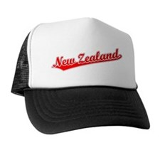 Retro New Zealand (Red) Trucker Hat