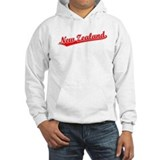 Retro New Zealand (Red) Hoodie