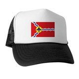 ST-LOUIS-FLAG Trucker Hat