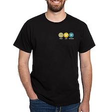 Peace Love Food Service T-Shirt