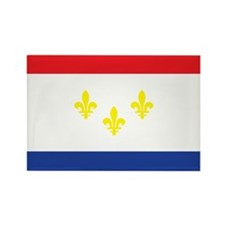 NEW-ORLEANS-FLAG Rectangle Magnet