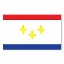 NEW-ORLEANS-FLAG Rectangle Decal