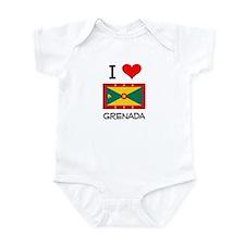 I Love Grenada Infant Bodysuit