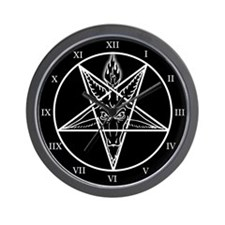 Baphomet Wall Clock