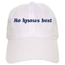 Bo knows best Baseball Cap
