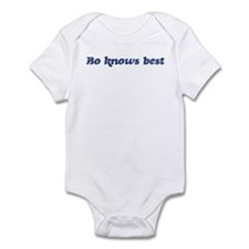 Bo knows best Infant Bodysuit