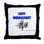 Sexy Genealogist Throw Pillow