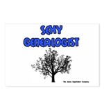 Sexy Genealogist Postcards (Package of 8)
