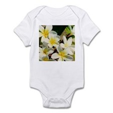 Frangipani/Plumeria Flowers Infant Creeper