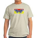 Butter (finger) Fly Eyes Ash Grey T-Shirt