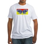 Butter (finger) Fly Eyes Fitted T-Shirt