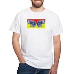 Butter (finger) Fly Eyes White T-Shirt