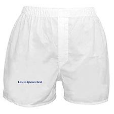 Louis knows best Boxer Shorts