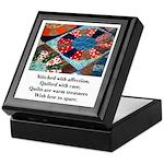 Quilts - Warm Treasures Keepsake Box