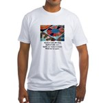 Quilts - Warm Treasures Fitted T-Shirt